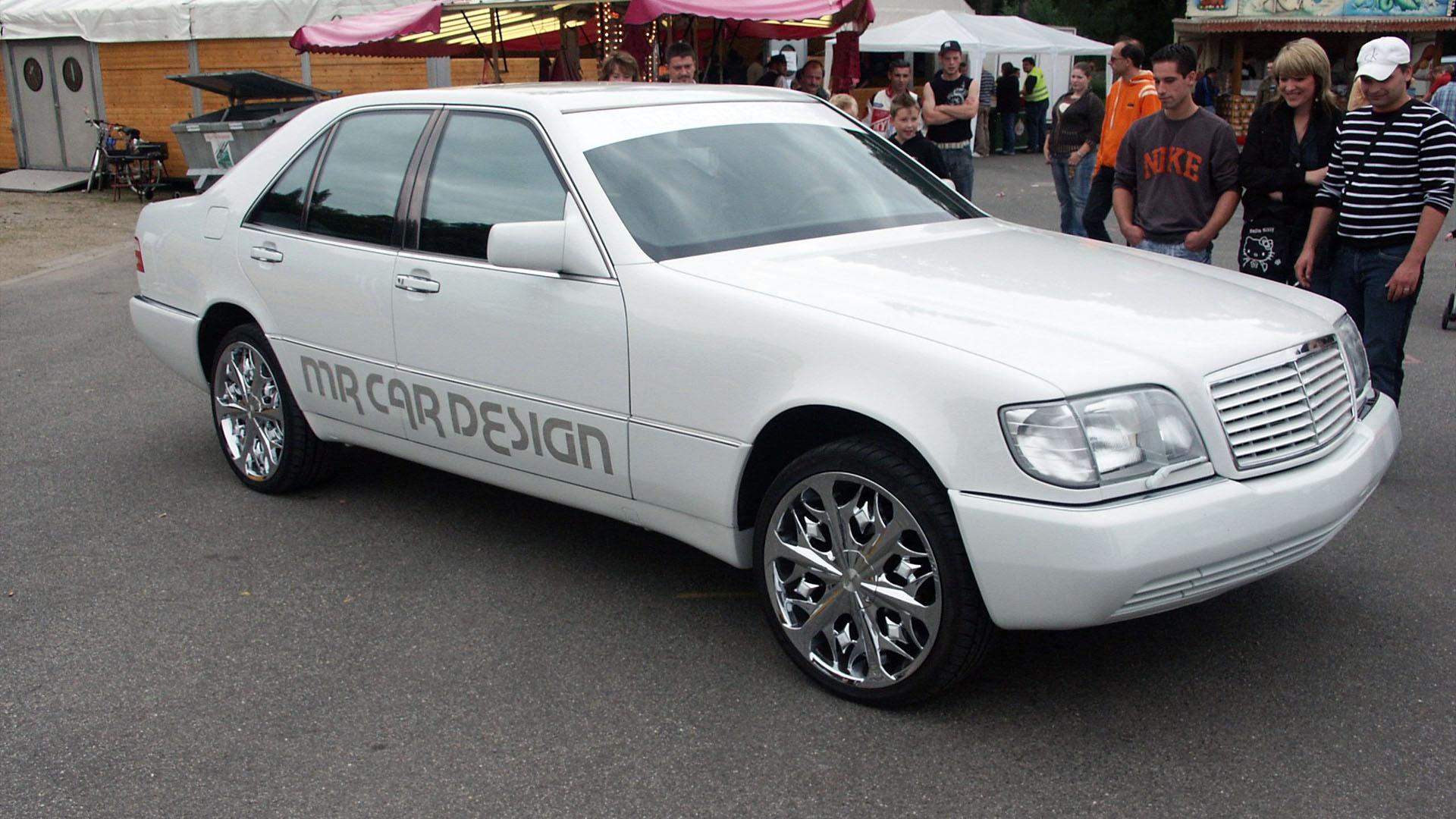 11. Int. VW Treffen Düren - Mercedes Benz Lowrider