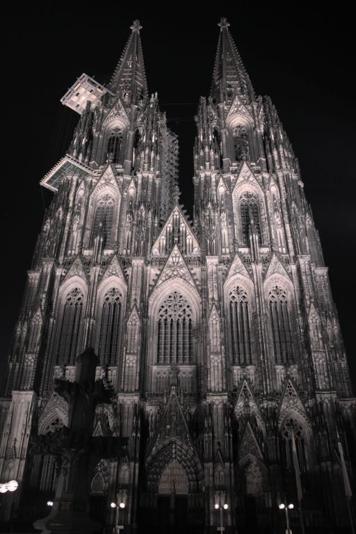 Kölner Dom Nacht