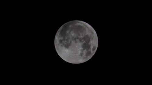 Mondfinsternis und Supermond