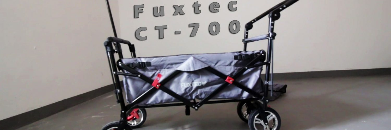 Fuxtec CT-700 Bollerwagen - Unboxing + First View
