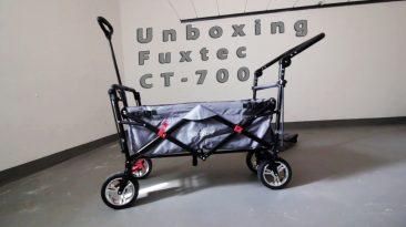 Fuxtec CT-700 Bollerwagen - Unboxing + First View