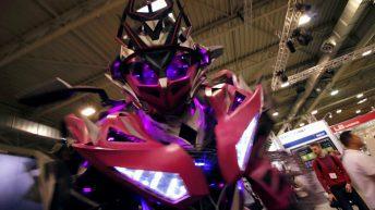 Transformers @ Essen Motor Show 2016
