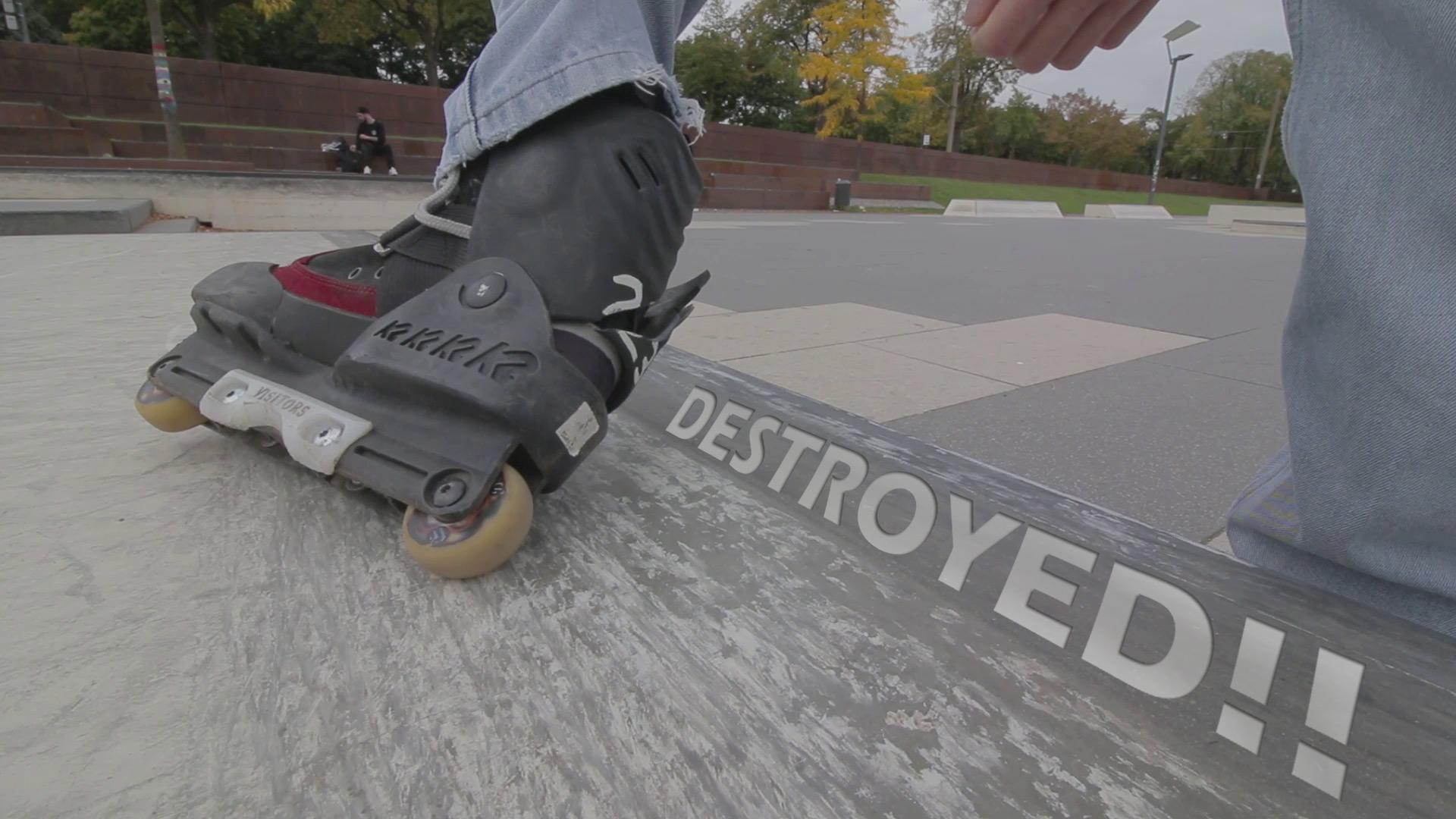 Inline Skates zerstört!