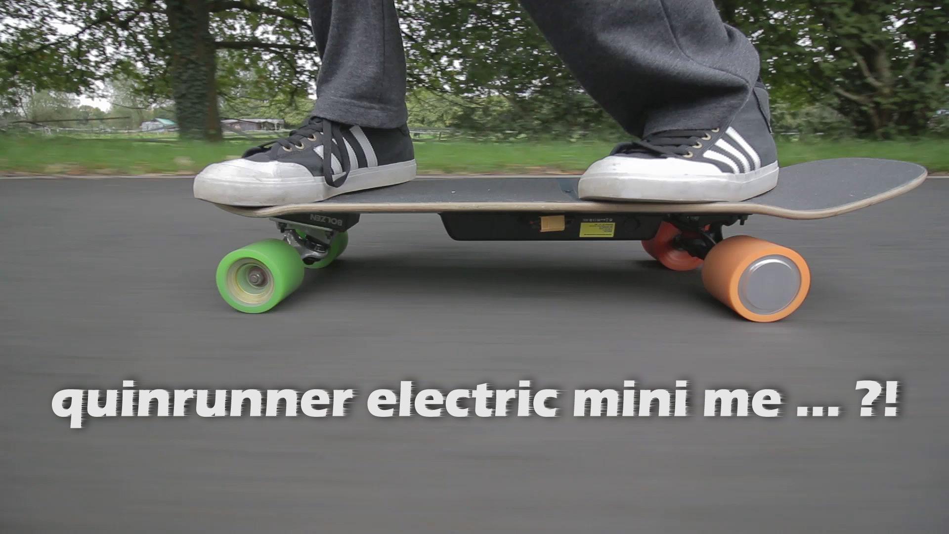 Mein modifiziertes Elektro-Skateboard