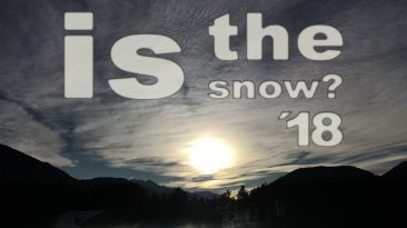 Spotify Playlist: Where is the snow? '18