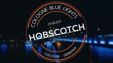 Cologne in blue light