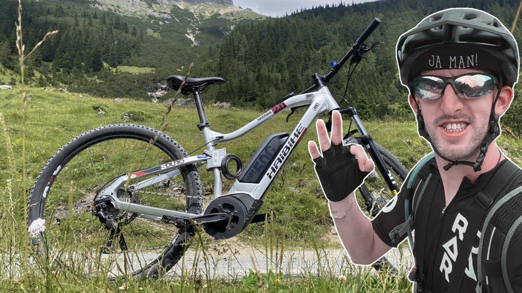 Mit dem E-Bike auf der Imster Almenrunde   20 km E-MTB Tour